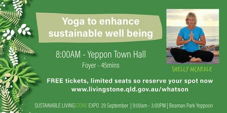 Yoga to enhance  sustainable well being tickets