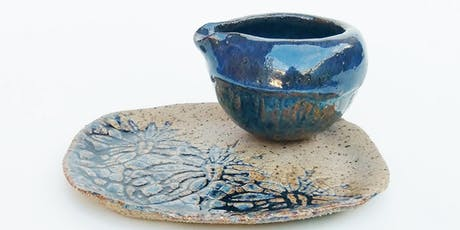 Ceramics - Hand building with Clay Classes tickets