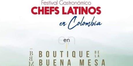 Festival Gastronómico Chefs Latinos en Medellín tickets