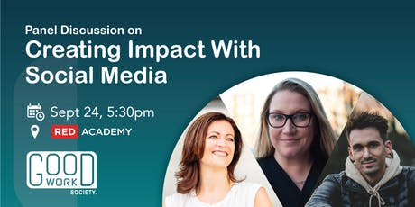 Social Media for Purpose-Driven Businesses: Panel Talk [Good Work Society] tickets