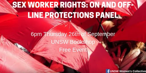 Sex Worker Rights: On and Off-line Protections Panel