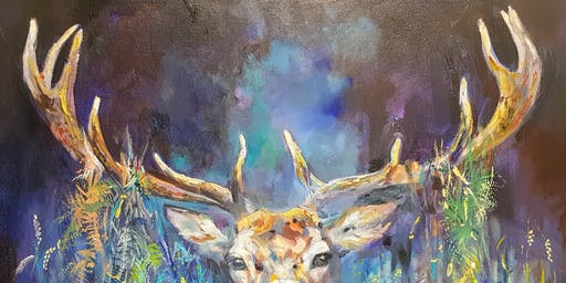 'Wildlife of the National Forest' Exhibition of paintings by Sue Gardner