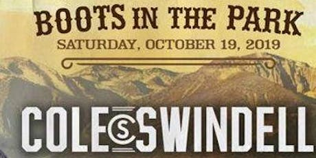 Boots in the park; Cole Swindell, Dylan Scott tickets