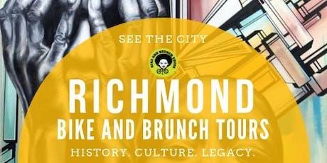 Bike & Brunch Tours: RVA Mural Bike Tour tickets