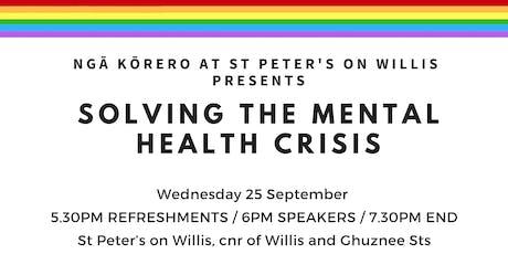 Ngā Kōrero: Solving the mental health crisis tickets