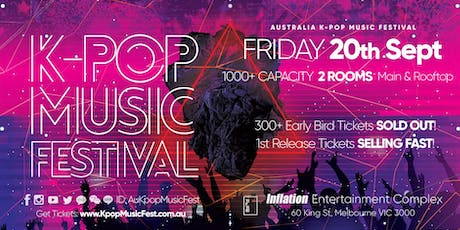 THIS FRIDAY! Melbourne K-Pop Music Festival [300+ Early Bird SOLD OUT] tickets