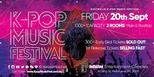 THIS FRIDAY! Melbourne K-Pop Music Festival [300+ Early Bird SOLD OUT]