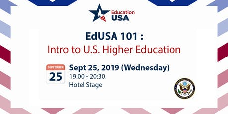 EdUSA 101: Intro to U.S. Higher Education (Sept 25) tickets