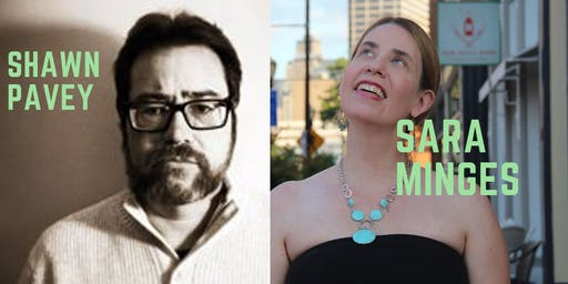 Sara Minges Book Signing & Reading with Guest Shawn Pavey
