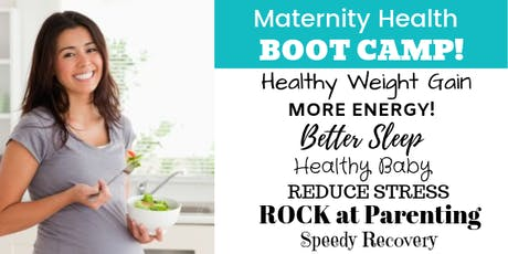 Maternity Health Boot Camp! tickets