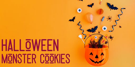 Halloween Monster Cookies - Sanctuary Point Library