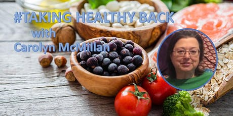#TAKING HEALTHY BACK tickets