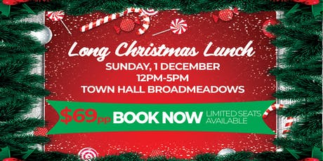 Long Christmas Lunch tickets