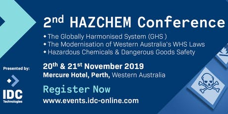 2nd HAZCHEM Conference - Perth, Australia tickets