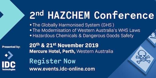 2nd HAZCHEM Conference - Perth, Australia
