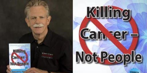 """Killing Cancer Not People""  book launch with Robert Wright"
