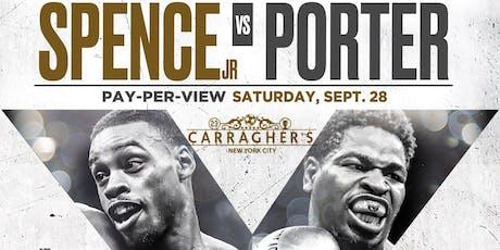 Spence Jr vs Porter tickets