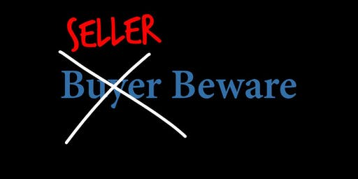 Seller Beware FREE CE Course (3 Credit Hours) - NOV 6