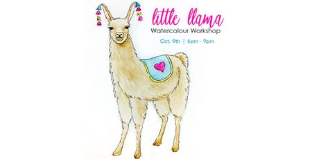 Little Llama - Watercolour Workshop [Adults] tickets