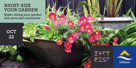 Rightsizing your Garden - Growing in Pots and Containers tickets