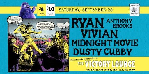 Ryan Anthony Brooks, Vivian, Midnight Movie, Dusty Cubby