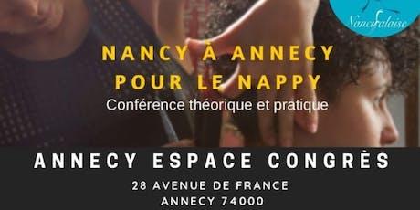 Nancy à Annecy pour le NAPPY billets