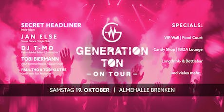 Generation Ton - On Tour | Vol. 1 Tickets