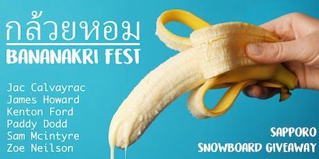 Bananakri Fest tickets
