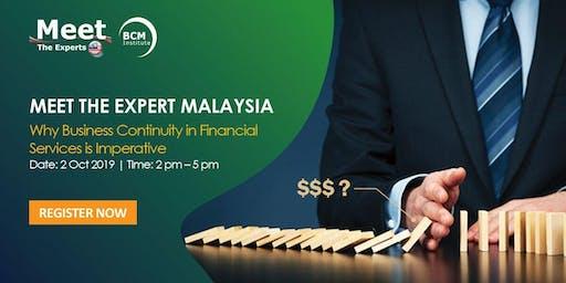 Meet-The-Expert Malaysia seminar