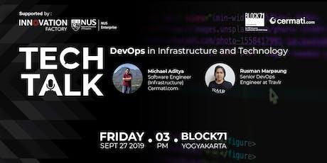 Techtalk: DevOps in Infrastructure and Technology tickets