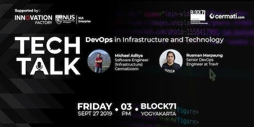 Techtalk: DevOps in Infrastructure and Technology