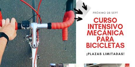 Curso Práctico de Mecánica para Bicicletas tickets