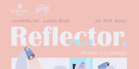 Reflector // Episod Pilot tickets