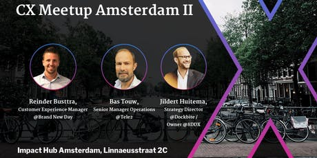 Customer Experience Meetup Amsterdam 2 tickets