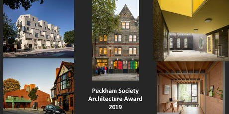 Peckham Society Architecture Award 2019 tickets