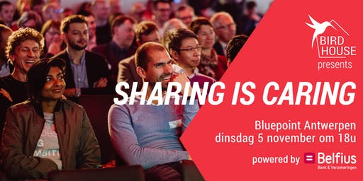 Sharing is Caring Antwerpen I powered by Belfius