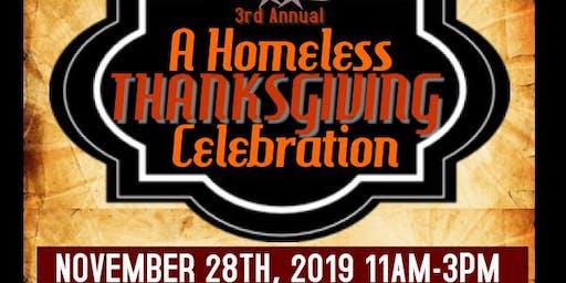 3rd Annual A Homeless Thanksgiving