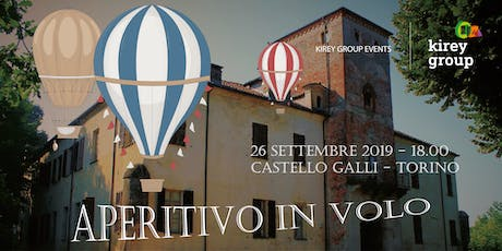 Aperitivo in volo con Kirey Group tickets