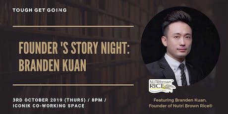 Founder's Story Night: Branden Kuan tickets