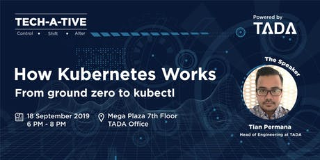 TECH-A-TIVE - How Kubernetes Works tickets