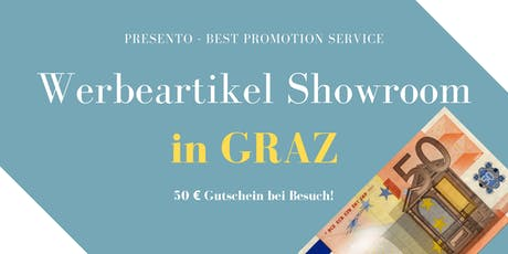 Werbeartikel Showroom Tickets