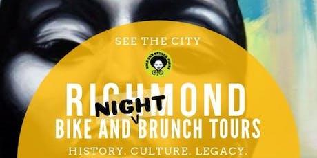 Bike & Brunch Tours: RVA Mural Bike Tour...Night Edition! tickets