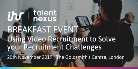 Using Video Marketing to Solve your Recruitment Challenges tickets