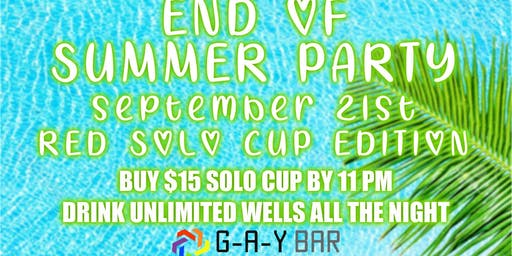 End of Summer Party!