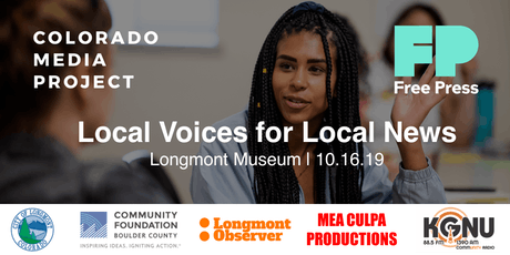 Local Voices for Local News tickets