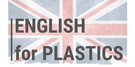 English for plastics tickets
