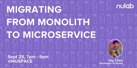Kubernetes: Migrating from Monolith to Microservice (Cacoo) tickets