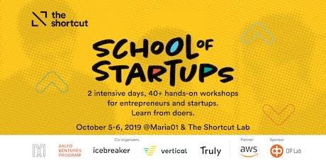 School of Startups 2019 tickets