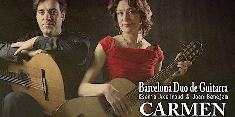 Barcelona Dúo de Guitarra; Carmen tickets