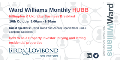 Ward Williams HUBB: Hillingdon Uxbridge Business Breakfast
